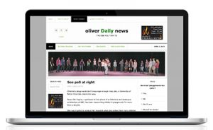 Oliver Daily News Website